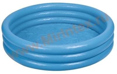 INTEX 59416 Бассейн надувной «Кристалл» 114 х 25 см