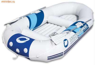 Bestway 65044 Надувная лодка 270х142х46 см, с вёслами, насосом, сиденьями, сумкой