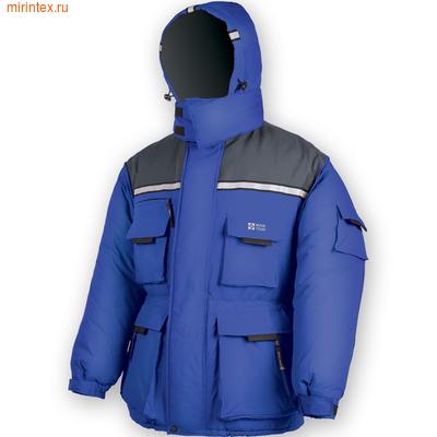 """NovaTour Куртка """"Буран"""" N(Серый/синий)"""