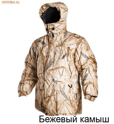 """NovaTour Куртка утепленная охотничья """"Чирок""""(Бежевый камыш)"""