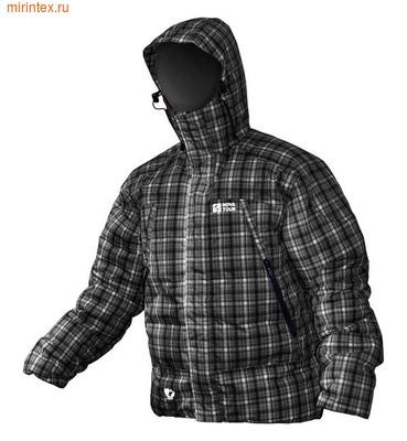 """NovaTour Куртка """"Селенга N"""" пуховая(Черный/клетка)"""