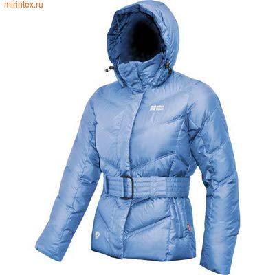 """NovaTour Женская пуховая куртка """"Чара""""(Голубая)"""