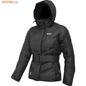 "NovaTour Женская пуховая куртка ""Чара""(Чёрная)"