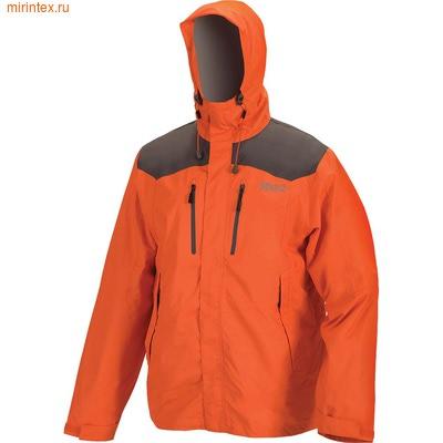 """NovaTour Куртка мужская """"Шторм v.2""""(Оранжевый/темно-серый.)"""