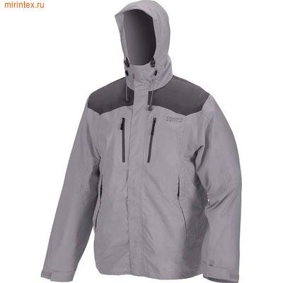 """NovaTour Куртка мужская """"Шторм v.2""""(Светло-серый/темно-серый)"""