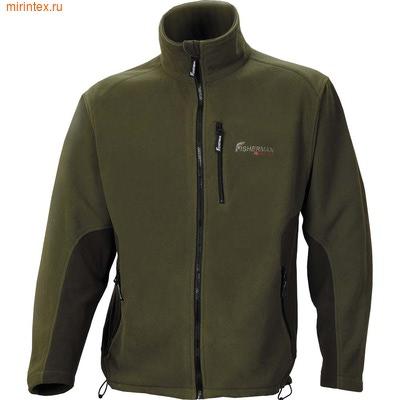 "NovaTour(fisherman) Флисовый костюм ""Спринг""- куртка(Хаки)"