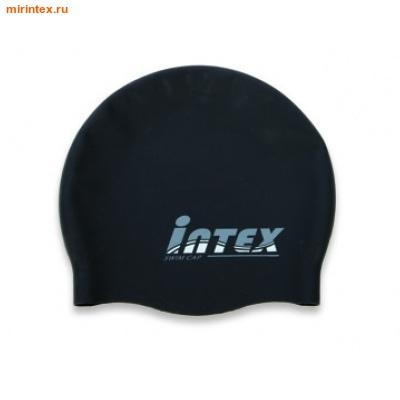INTEX Шапочка для плавания, от 8 лет (черная)