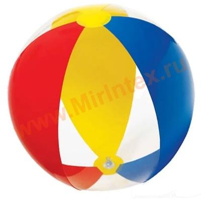 """INTEX 59032 Мяч пляжный """"Paradise"""", d=61 см, от 3 лет."""