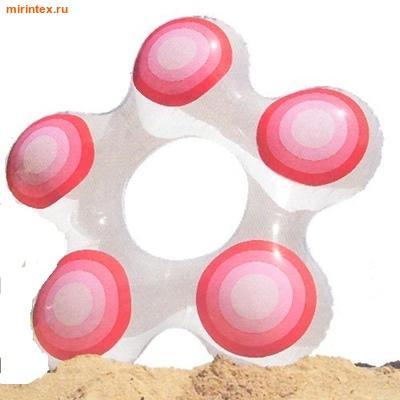 INTEX Круг Звезда 74х71 см (красный)