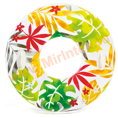 INTEX Круг Transparent 97см, от 9 лет(радуга)