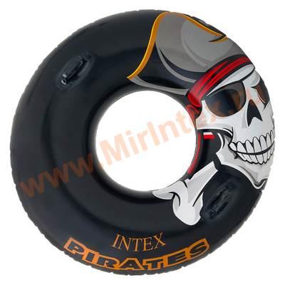 INTEX Круг Пират 107 см (с ручками)