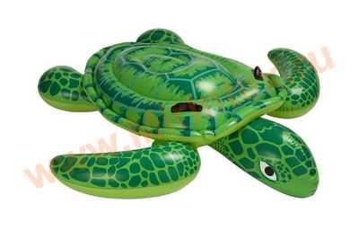 INTEX Плотик Черепаха 191х170см,от 3 лет