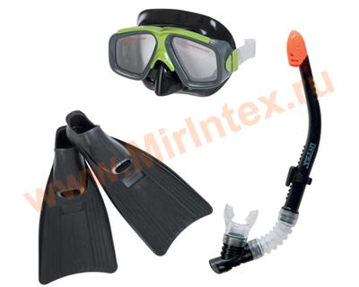INTEX Набор Surf Rider (маска, трубка, ласты) от 8 лет