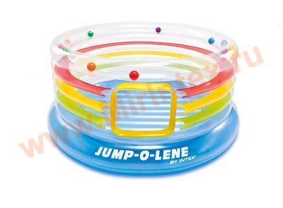 """INTEX Игровой центр-батут """"Jump-o-Lene"""" 182х86 см"""