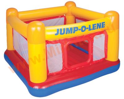 "INTEX 48260 Надувной батут ""Jump-o-Lene"" 174х174х112 см, от 3-6 лет (без насоса)"