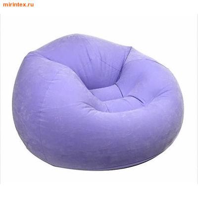 INTEX Кресло надувное 107х104х69 см (Фиолетовое)