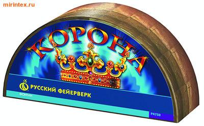 Русский фейерверк Фонтан пиротехнический Корона