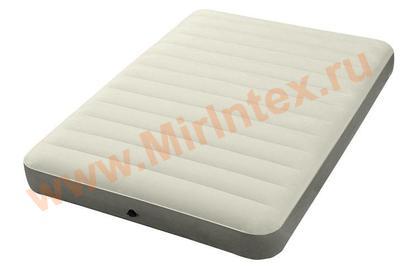 Надувные матрасы INTEX Deluxe 137х191х25 см