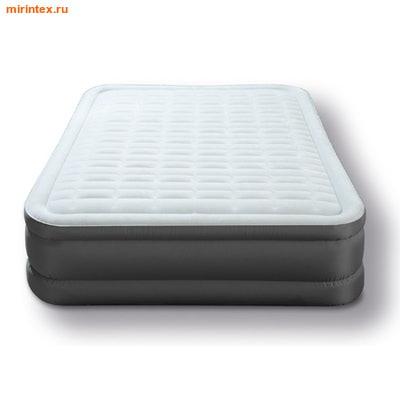 Надувные кровати INTEX PremAire 152х203х46 см (с встроенным насосом 220В)