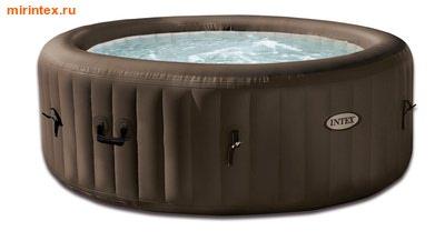 INTEX Надувной гидромассажный бассейн джакузи (145/196 см на 71 см)