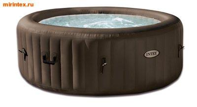 INTEX Надувной гидромассажный бассейн джакузи (145/196 см на 71 см)+ хлорогенератор