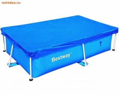 Bestway Тент для прямоугольного каркасного бассейна 239х150 см
