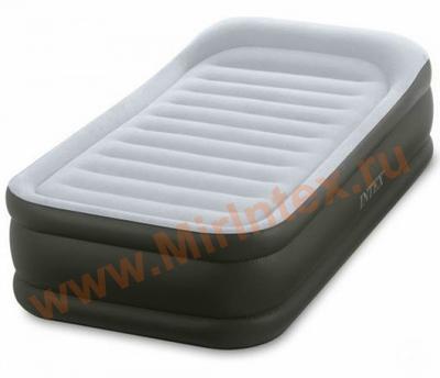 Надувные кровати INTEX Deluxe Pillow 99х191х42 см (с встроенным насосом 220В)