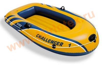 INTEX Лодка Challenger-1 193х108х38 см