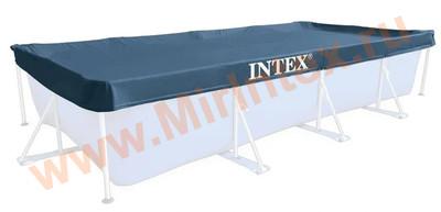 INTEX Тент для прямоугольного каркасного бассейна 460х226 см