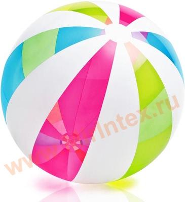 INTEX Мяч 107 см, от 3 лет