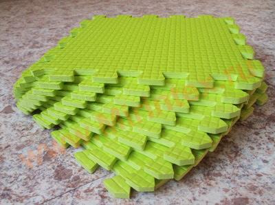Мягкий детский конструктор (Салатовый) 33х33х0.9 см
