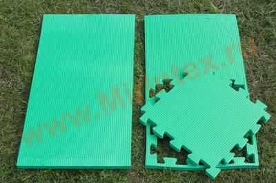 """Будо-мат """"С креплением ласточкин хвост"""" 50х50х1,8см (Зелёный)"""