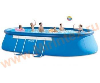 INTEX Чаша для овальных бассейнов Oval Frame 549х305х107 см