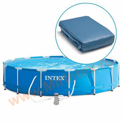 INTEX Чаша для каркасных бассейнов Metal Frame 732х132см
