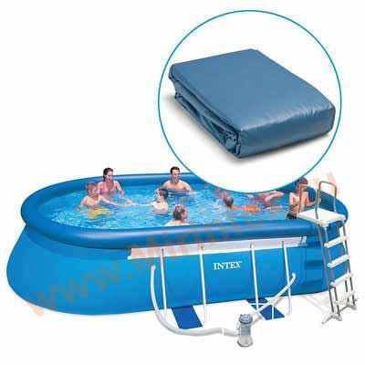 INTEX Чаша для овальных бассейнов Oval Frame 610х366х122 см