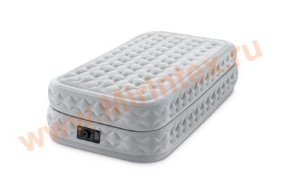 Надувные кровати INTEX Dura-Beam Plus Series 99х191х51 см, встроенный насос 220V