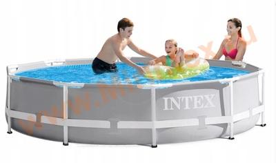 INTEX Бассейн каркасный круглый Intex Prism Frame 305х76 см