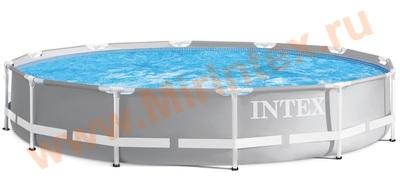 INTEX 26710 Каркасный бассейн Prism Frame 366x76 см