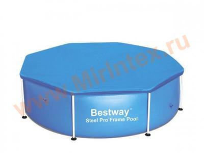 Bestway Тент для круглого каркасного бассейна 244см