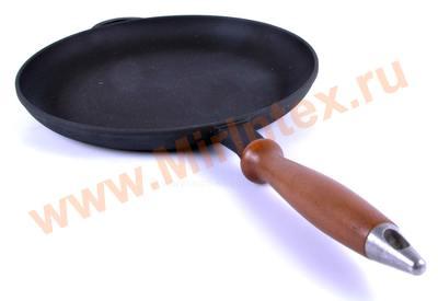 Ситон Сковорода блинная 260х25 мм (чугун)
