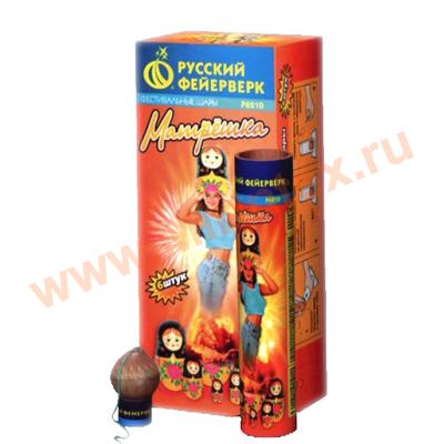 "Русский фейерверк Матрешка 1,7""х6"