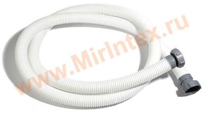 INTEX Шланг для фильтр-насоса с гайками, ф38 мм, длина 300 см