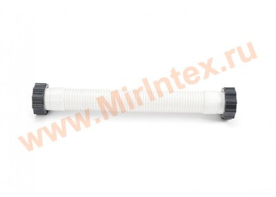 INTEX Шланг для фильтр-насоса с гайками, ф38 мм, длина 27 см
