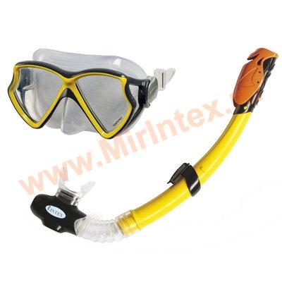 INTEX Набор Aviator Pro (маска, трубка) от 8 лет