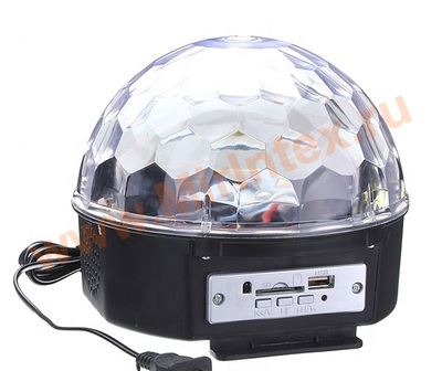 Светящийся диско-шар MP3 Led Magic Ball Light
