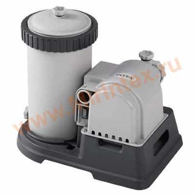 INTEX Корпус и мотор для ф.насоса 28634 (без комплекта для подключения)