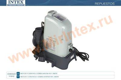 INTEX 11912 Блок управления для хлоргенераторов с песочным насосом для арт. 28676 (16ECO15220**A0)