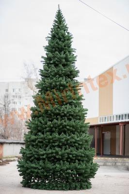 Ель искусственная, уличная, каркасная «Уральская» 30 м.