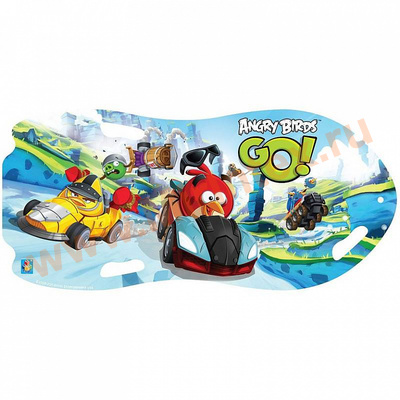 "Ледянка ""Angry Birds"" для двоих 122х0,5 см"