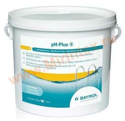 Bayrol pH-плюс гранулы для повышения уровня рН воды плавательного бассейна 5 кг.